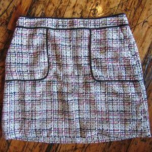 SOLD LOFT Tweed Skirt NWT